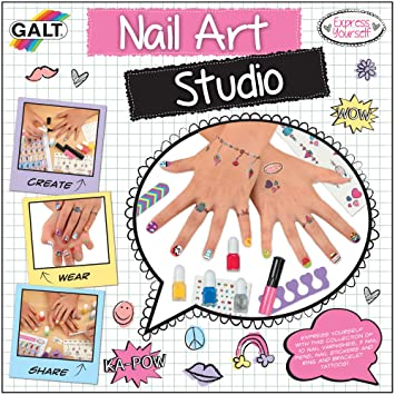 Galt toys express yourself nail art studio amazon toys games galt toys express yourself nail art studio solutioingenieria Gallery
