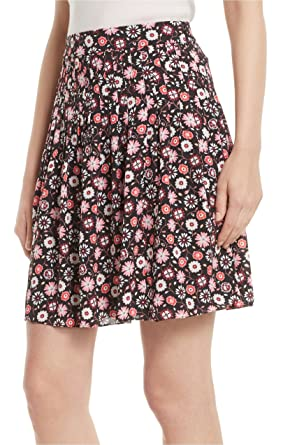 a25f88281 Amazon.com: Kate Spade New York Women's Mini Casa Flora Skirt, Black ...