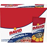 David Sunflower Seeds, Original,  Roasted & Salted, 1.625-Ounce Unpriced Tubes (Pack of 12)