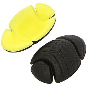 Roleff Racewear ROPP13 Protection épaules lot de 2 Noir/Jaune