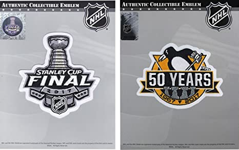 Image Unavailable. Image not available for. Color  2017 Stanley Cup Final   Pittsburgh  Penguins 50th Anniversary Jersey Patch Combo adb5c3ffc