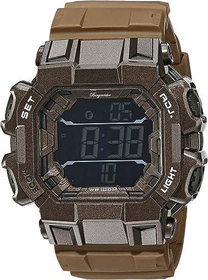 Burgmeister Reloj Digital para Hombre de Cuarzo con Correa en Plástico BM804-025