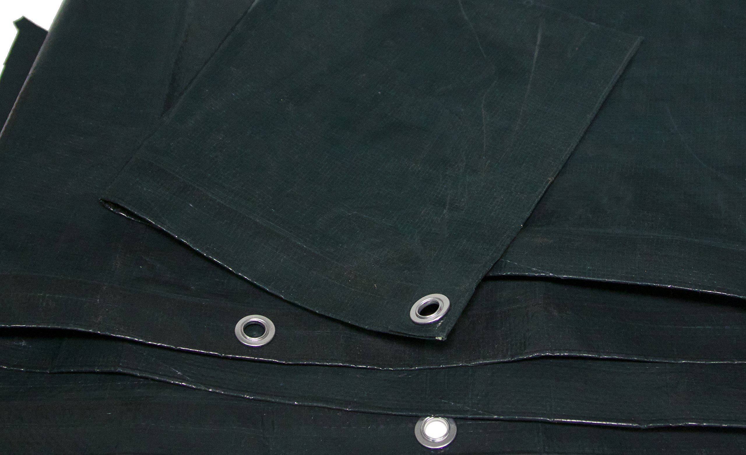 Forest Green Tarp 4.5 OZ., 3'x18' by Harpster Tarps