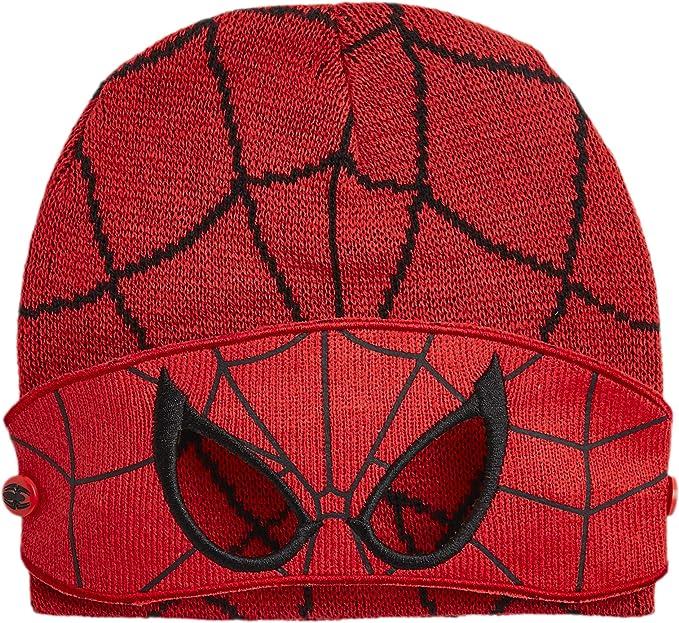 Cappello Scaldacollo E Guanti Avengers O Spiderman da 3 A 7 Anni