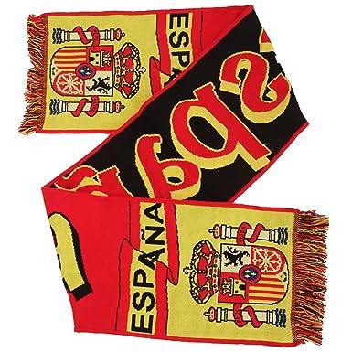 Bufanda de invierno de punto para apoyar a la seleccion española ...