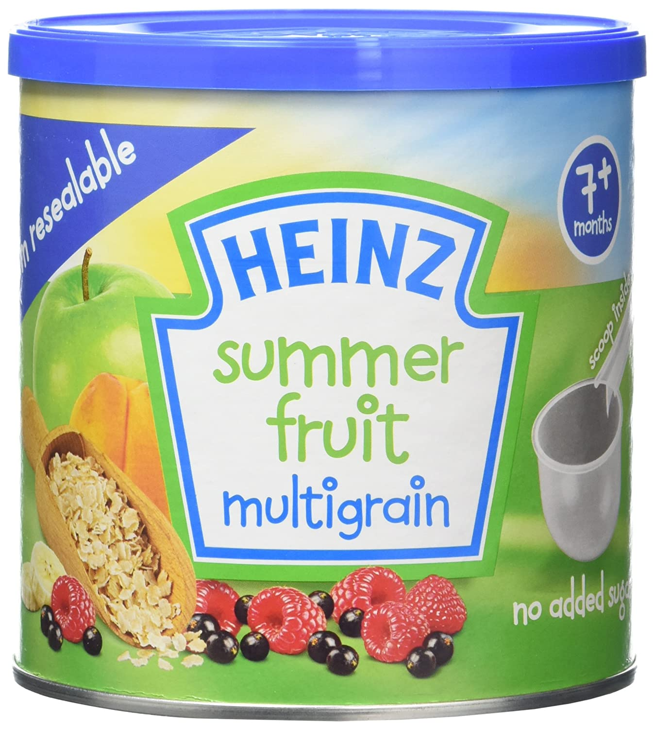 Heinz Baby Tub and Scoop Summer Fruit Multigrain Cereal, 240 g (Pack of 3) 76007728