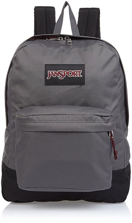 ffb380e7e37 Jansport Black Label Superbreak Backpack FORGE GREY One Size: Amazon ...