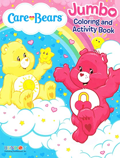 - Drawing & Sketch Pads American Greetings Care Bears Jumbo Coloring &  Activity Book Drawing & Painting Supplies Color Me Happy Bendon Arts &  Crafts Drawing & Painting Supplies