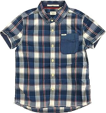 Pepe Jeans - Camisa - Cuadros Azul: Amazon.es: Ropa y accesorios