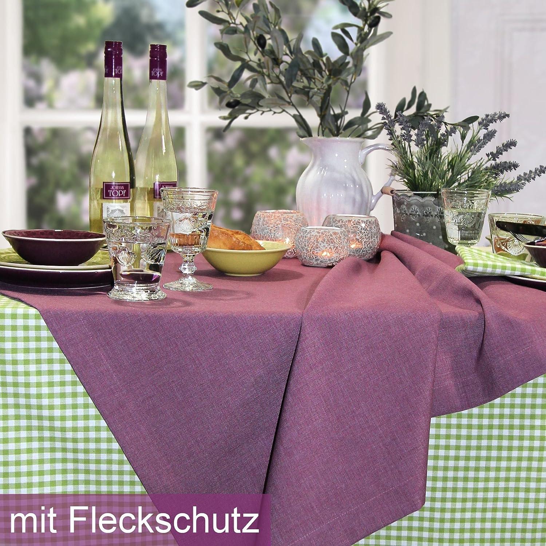 Sander Tischdecke LOFT Farbe Farbe Farbe 14 fuchsia mit FLECKSCHUTZAUSRÜSTUNG Größe wählbar (135x220) B00B4MT21G Tischdecken df57f2
