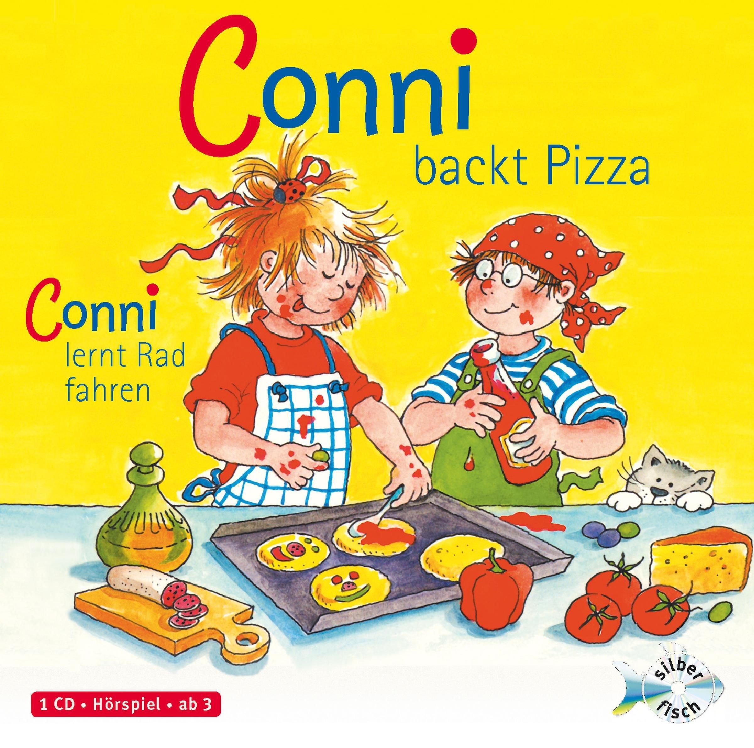 Schneider, Liane : Conni backt Pizza / Conni lernt Rad Fahren, 1 Audio-CD