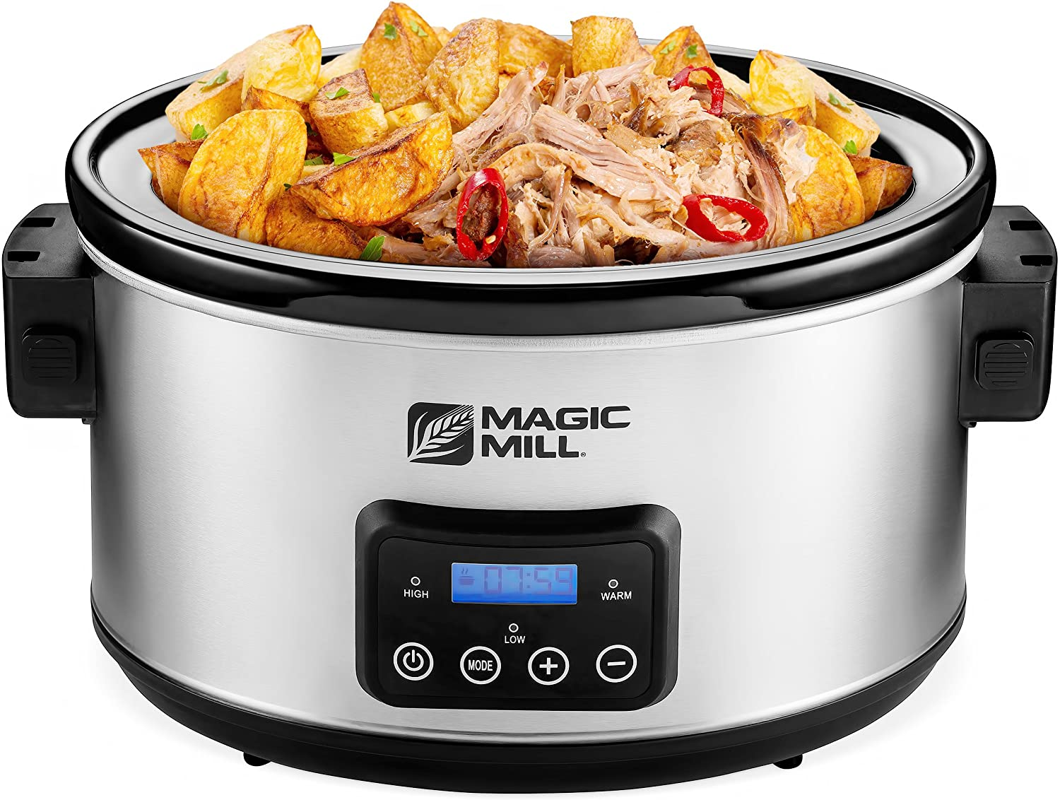 Magic Mill Portable electric slow cooker / Slow cooker with delay start