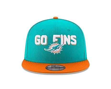 5cdf72c649d018 New Era NFL Miami Dolphins 2018 Draft Spotlight 9Fifty Snapback ...