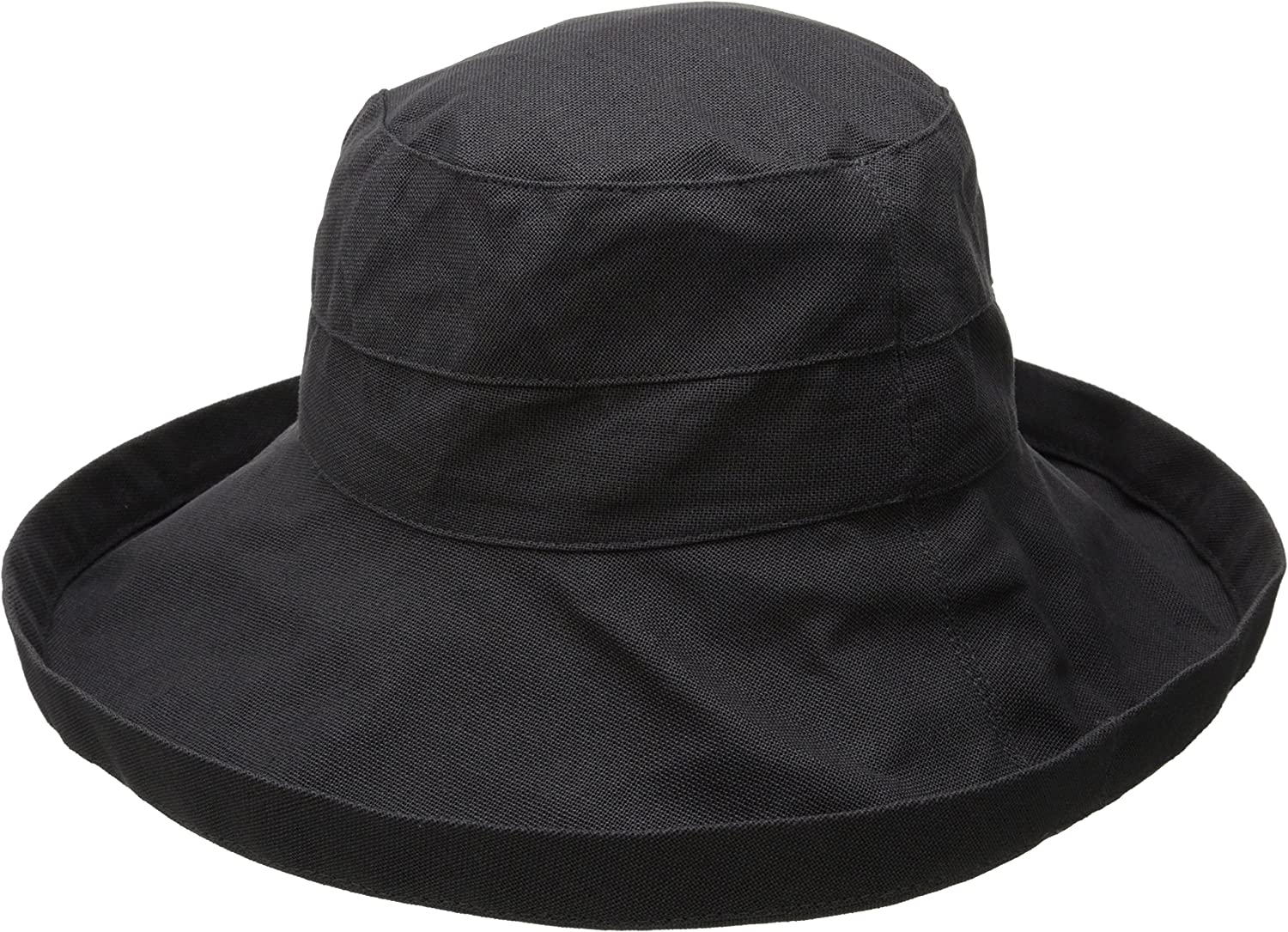 Rating Scala Women/'s Cotton Hat with Inner Drawstring and Upf 50