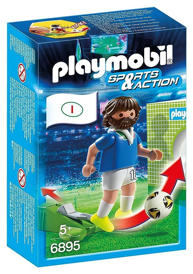Playmobil - Futbolista Italia (68950)  Amazon.es  Juguetes y juegos c9196b47a1d