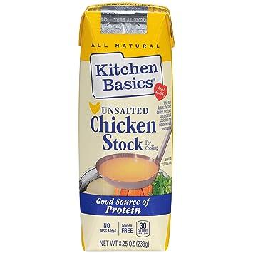 Amazon Com Kitchen Basics No Salt Chicken Stock 8 25 Oz Grocery