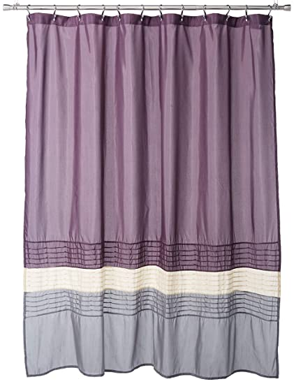 Lush Decor Mia Shower Curtain 72 By Inch Purple Gray