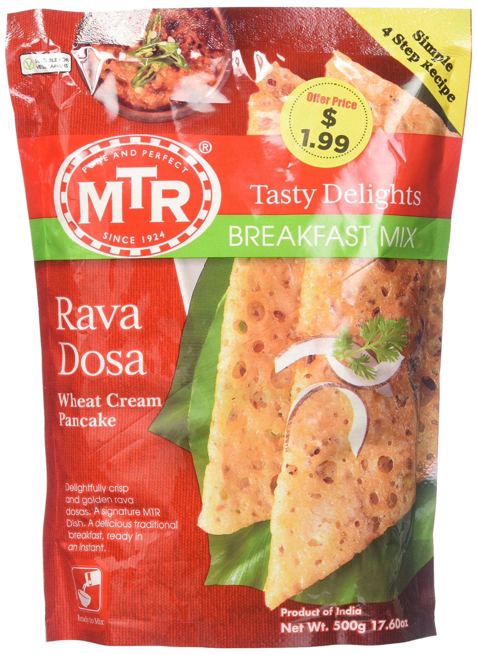 MTR Rava Dosa (Wheat cream pan cake mix) Mix 500gms