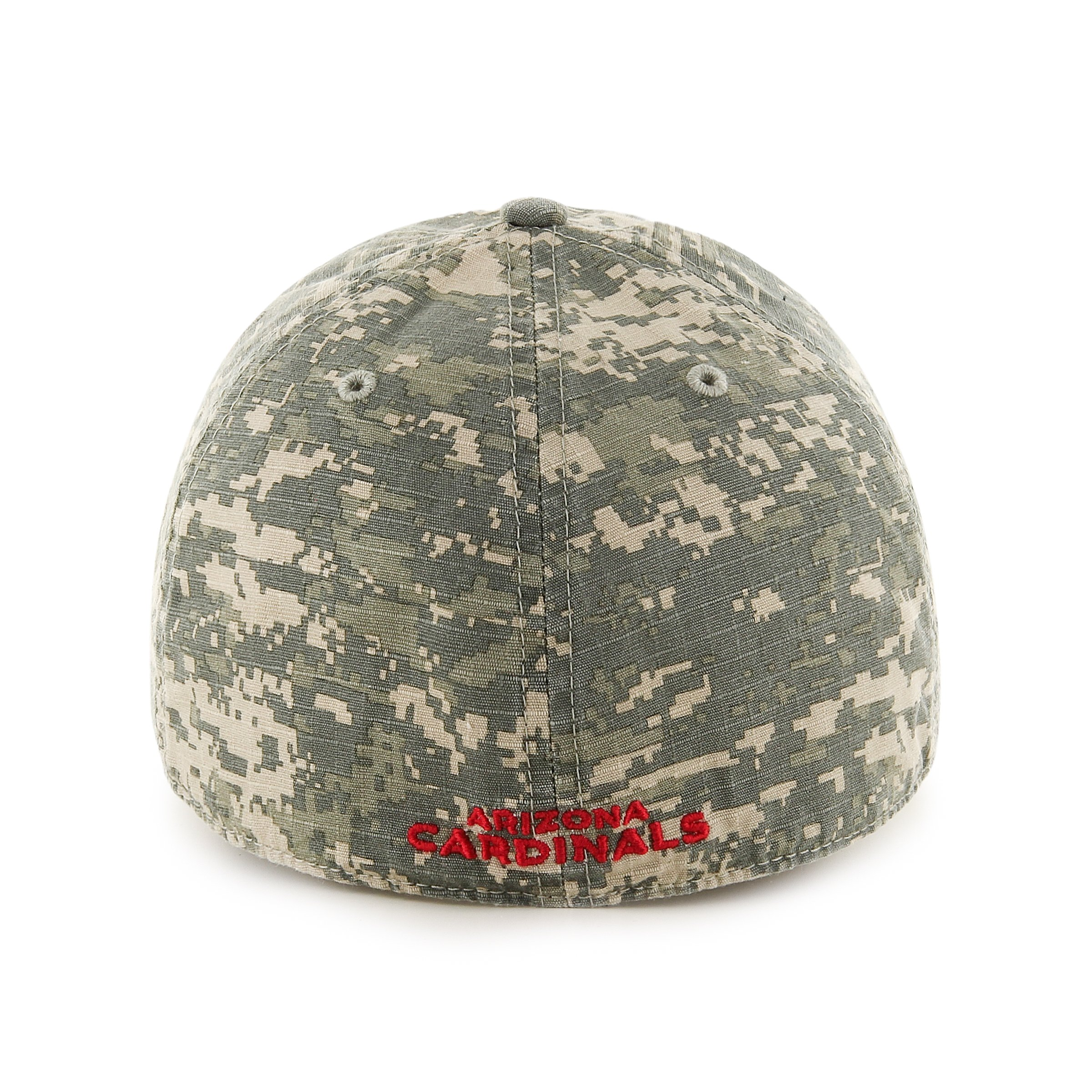 '47 NFL Arizona Cardinals Officer Franchise Fitted Hat, Small, Digital Camo 2
