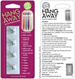 HANG AWAY (with-flex-grip-opening!) Universal Toothbrush Holder (GLOWS-IN-THE-DARK!). Also available in (WHITE #B003YIEE52) & (BLACK #B00COYGX88)
