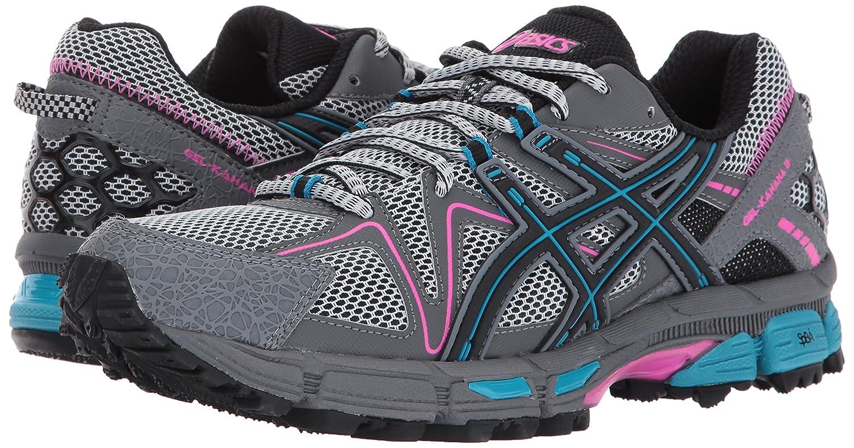 ASICS Women's Gel-Kahana 8 Running Shoe B01MQGGDLY 12 B(M) US|Black/Island Blue/Pink Glow