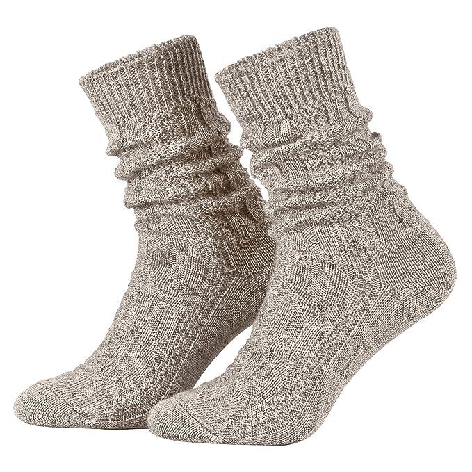 Piarini – 1 par de calcetines cortos para traje tradicional alemán ...