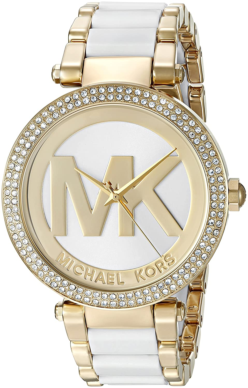 ab7a10403f2 Amazon.com  Michael Kors Women s Parker Gold-Tone Watch MK6313  Michael Kors   Watches
