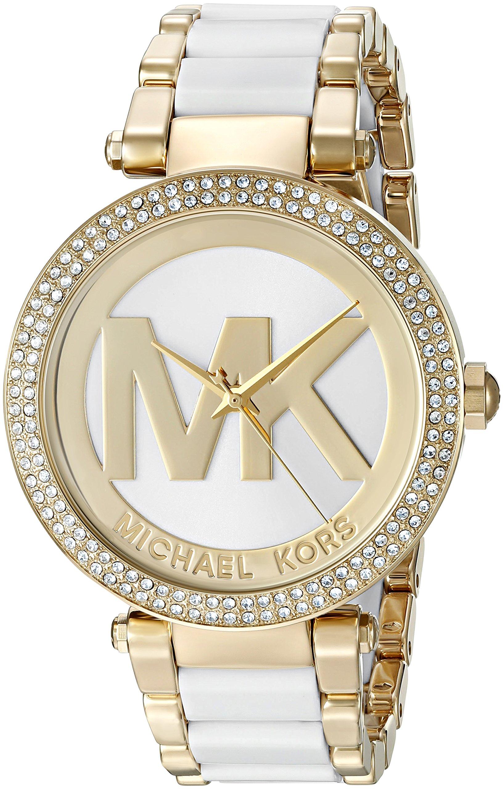 Michael Kors Women's Parker Gold-Tone Watch MK6313 by Michael Kors