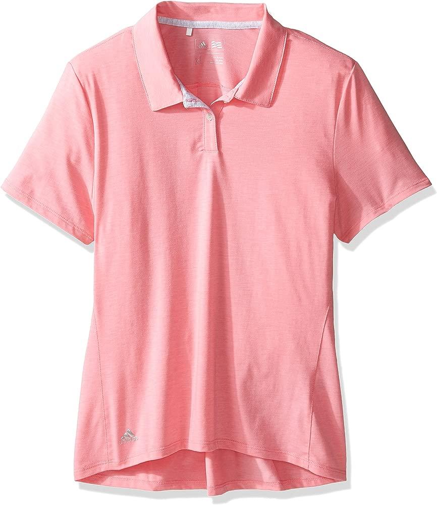 adidas Golf Esencial Polo, niña, Easy Pink: Amazon.es: Deportes y ...