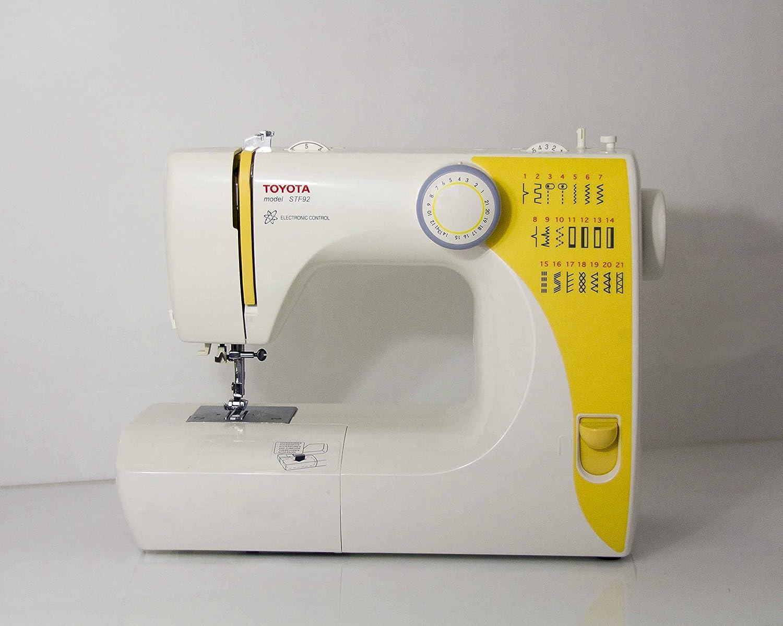 Máquina para coser Toyota stf92: Amazon.es: Hogar