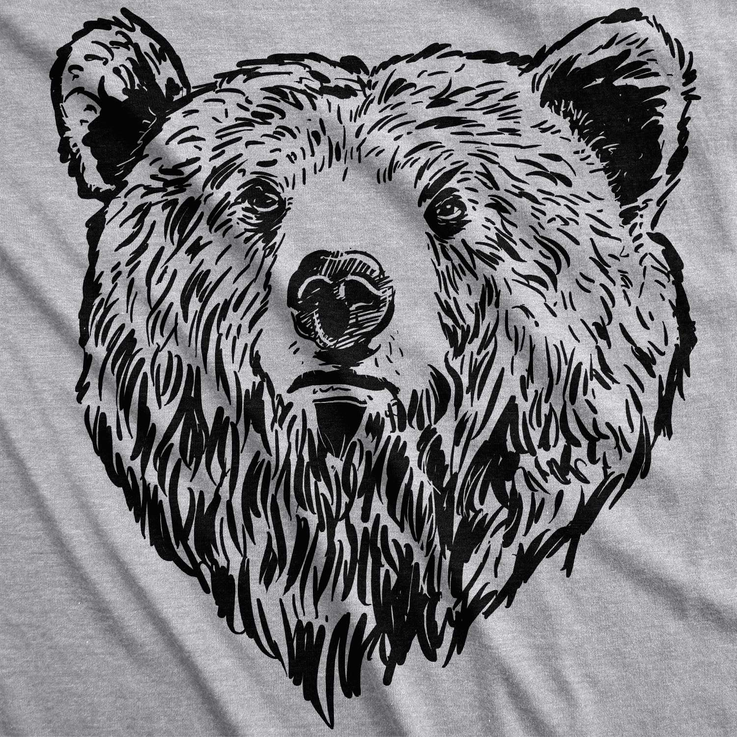 Amazon.com: Mens Grizzly Bear Flip T Shirt Funny Bear Hug Shirt Humorous  Novelty Tee for Men: Clothing