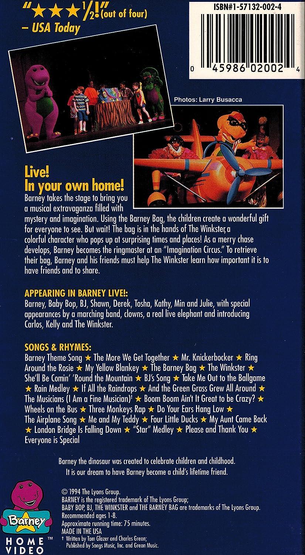 Barney - Live in New York [Import]: Bob West, Julie Johnson
