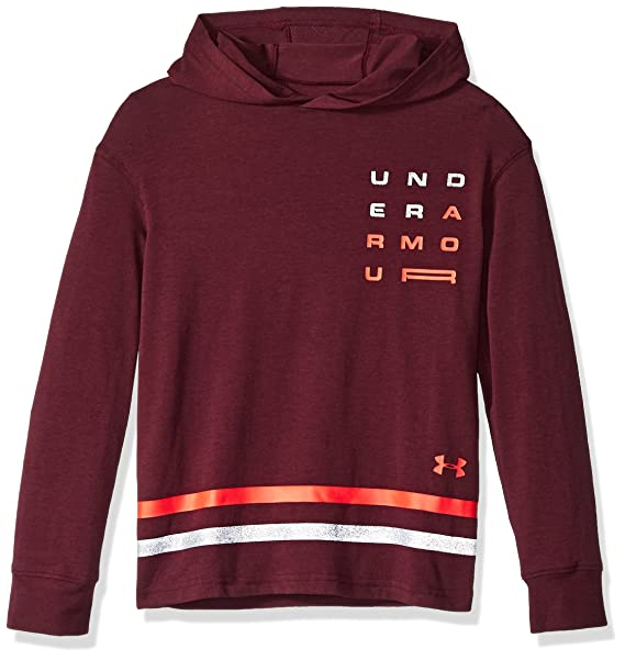 606a51e5 Under Armour Boys Wordmark Graphic Hoodie