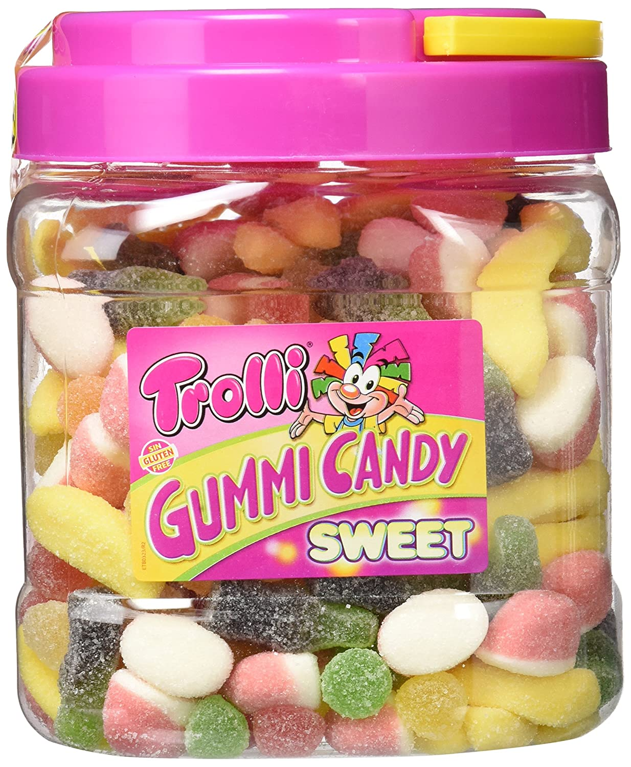 Trolli Gummy Candy Mix Sweet - 800 gr - [pack de 2]: Amazon.es: Alimentación y bebidas