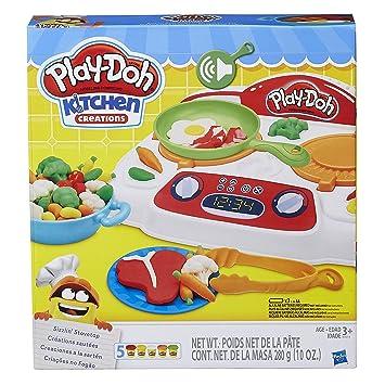 843abddfb8 Conjunto Massinha Play-Doh Criações No Fogão Hasbro  Amazon.com.br ...