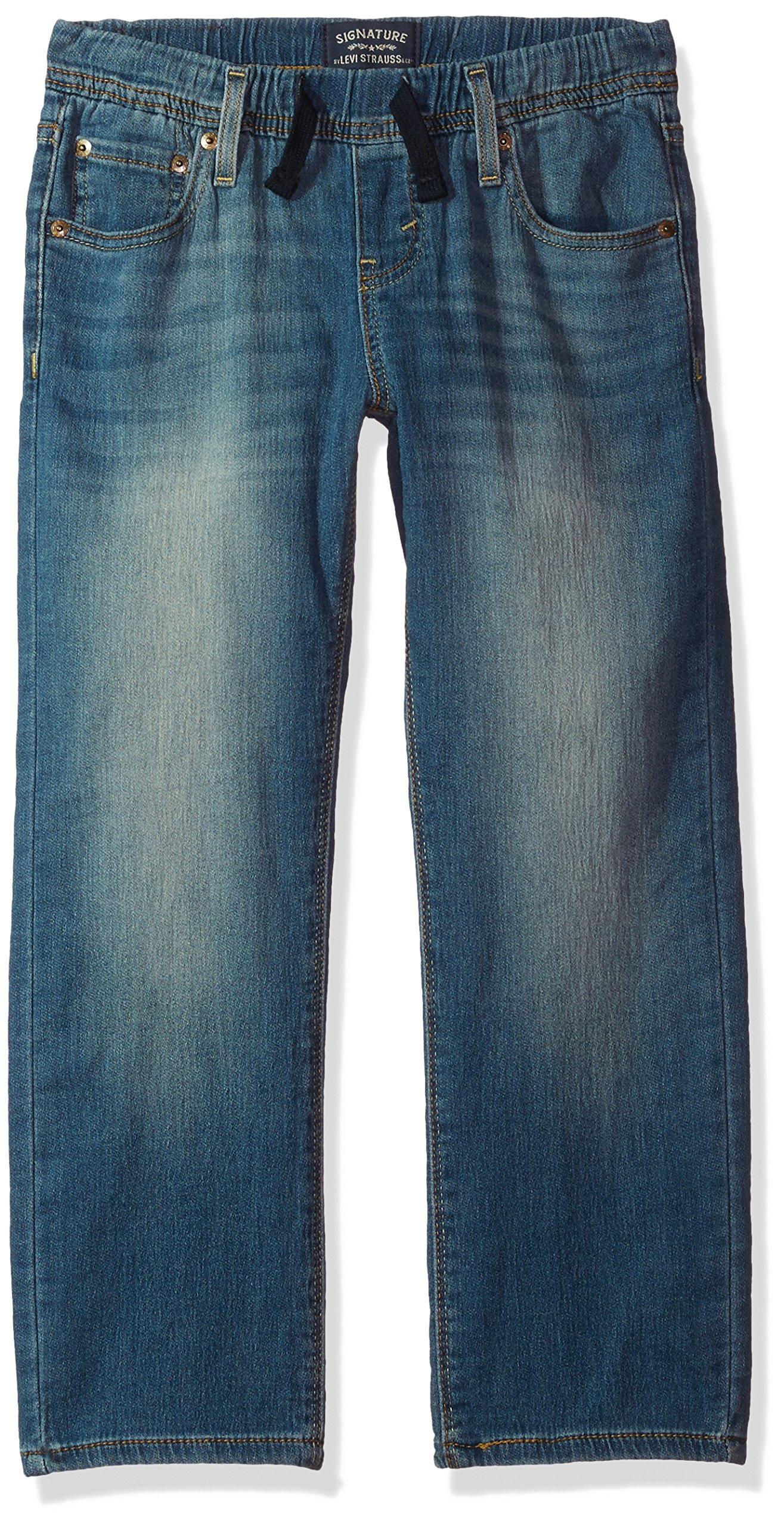 Signature by Levi Strauss & Co. Gold Label Big Boys' Athletic Recess Fit Jeans, Gulf, 10