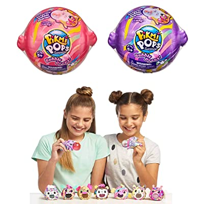 Pikmi Pops Bubble Drops - Neon Wild Series - Set of 2: Toys & Games
