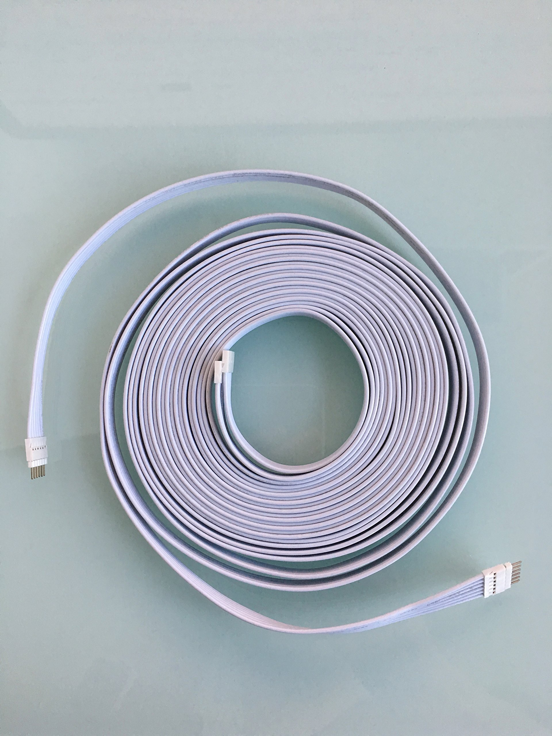 extension cable for philips hue lightstrip plus 6 pin led strip light cord ebay. Black Bedroom Furniture Sets. Home Design Ideas