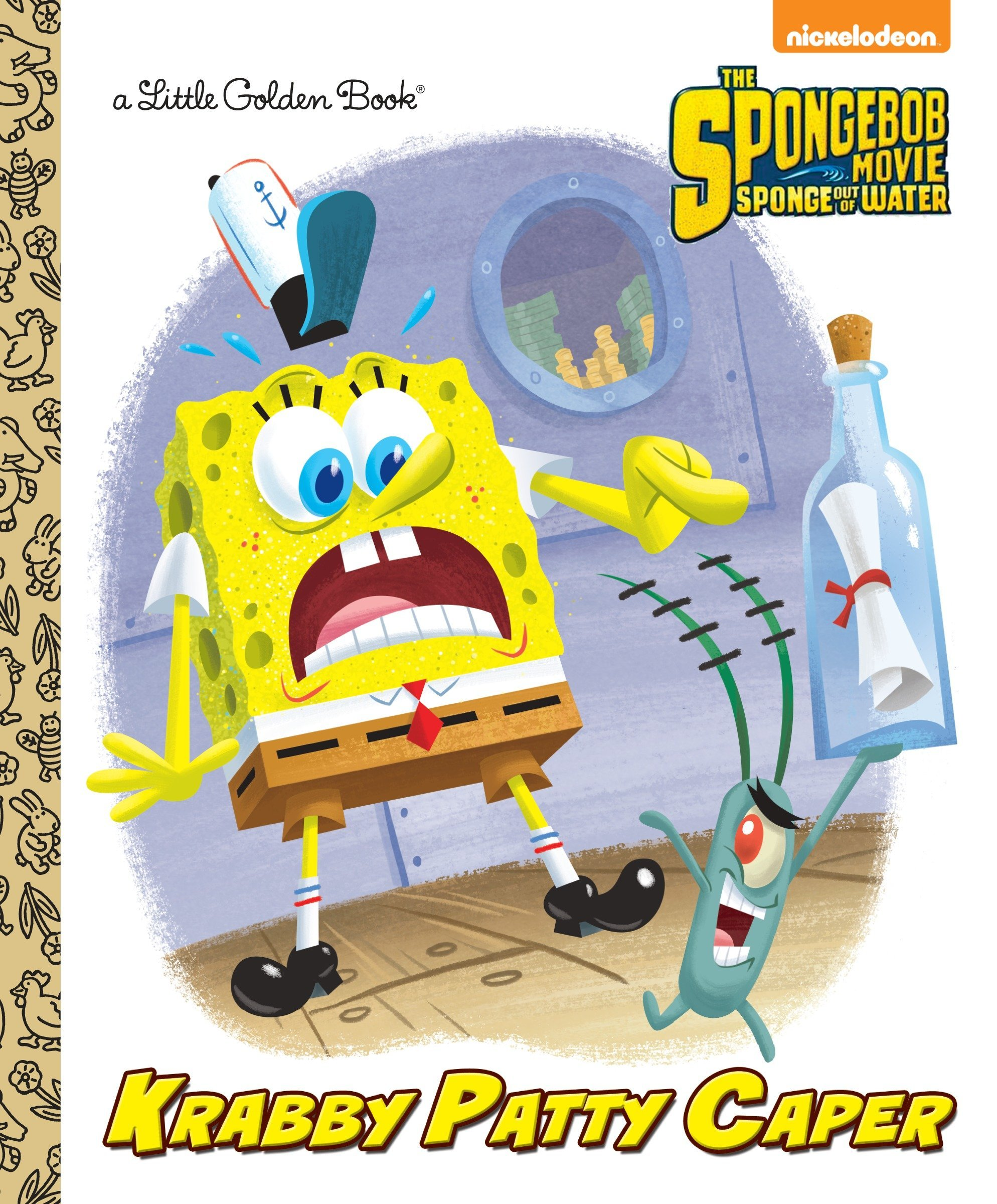Krabby Patty Caper SpongeBob SquarePants Little Golden Book