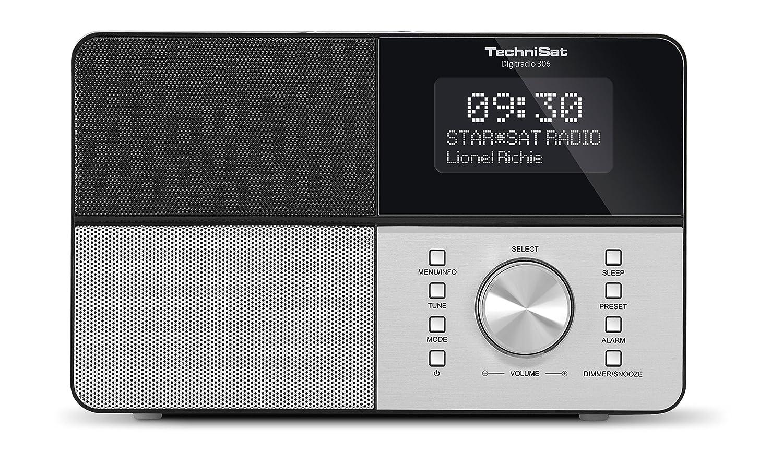 TechniSat DIGITRADIO 306 Digital-Radio, DAB+, UKW, Favoritenspeicher ...