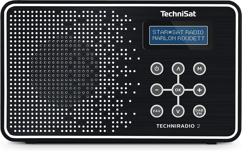 TechniSat Techni - Radio (Portátil, Analógico y Digital, Dab, Dab+, FM, UHF, 87,5-108 MHz, 174-240 MHz, 1 W)