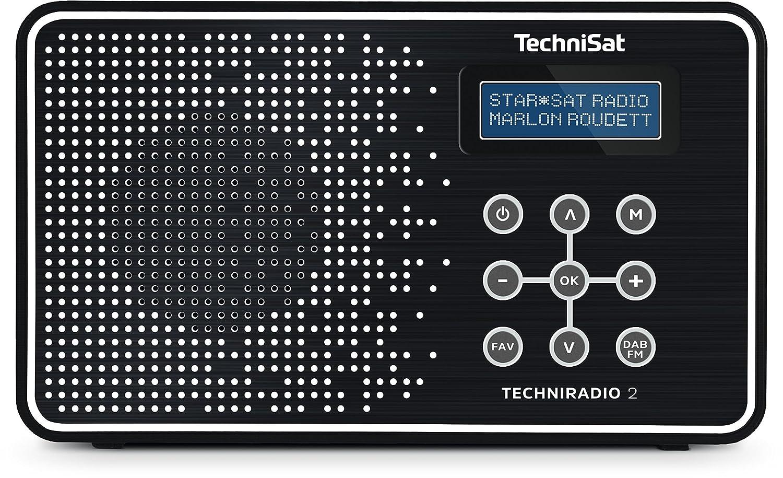 TechniSat Techni - Radio (Portá til, Analó gico y Digital, Dab, Dab+, FM, UHF, 87,5-108 MHz, 174-240 MHz, 1 W) Analógico y Digital 0002/4965