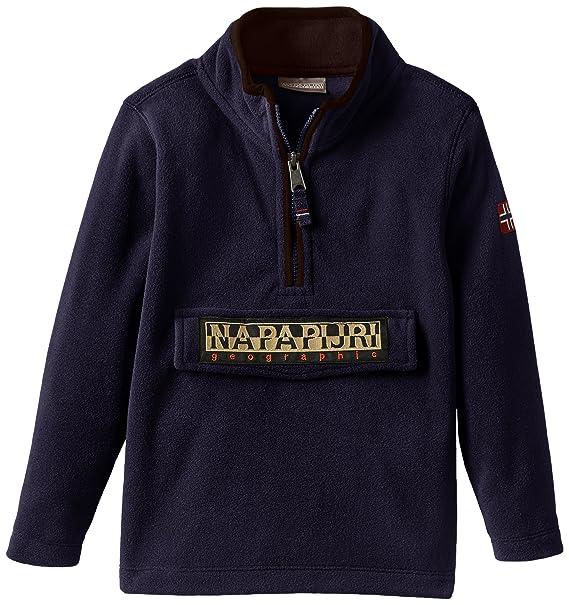 eb9ae0629 Napapijri K LAMI A, Felpa Bambino, Blu (BLU MARINE), 140 (Taglia  Produttore: 10): Amazon.it: Abbigliamento