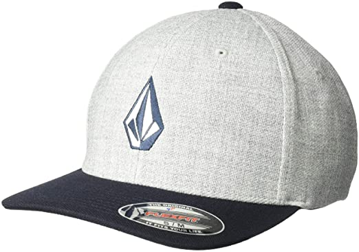 d50d21300435c Amazon.com  Volcom Men s Full Stone Heather Xfit Hat  Clothing