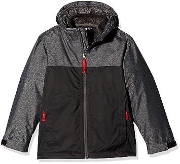 db56ec140 North Face Boys' Snow Quest Jacket,Tnf Black Heather,XL: Amazon.co ...