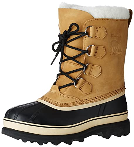 Sorel Caribou, Botas de nieve hombre, Marrón (Braun (Buff 281))
