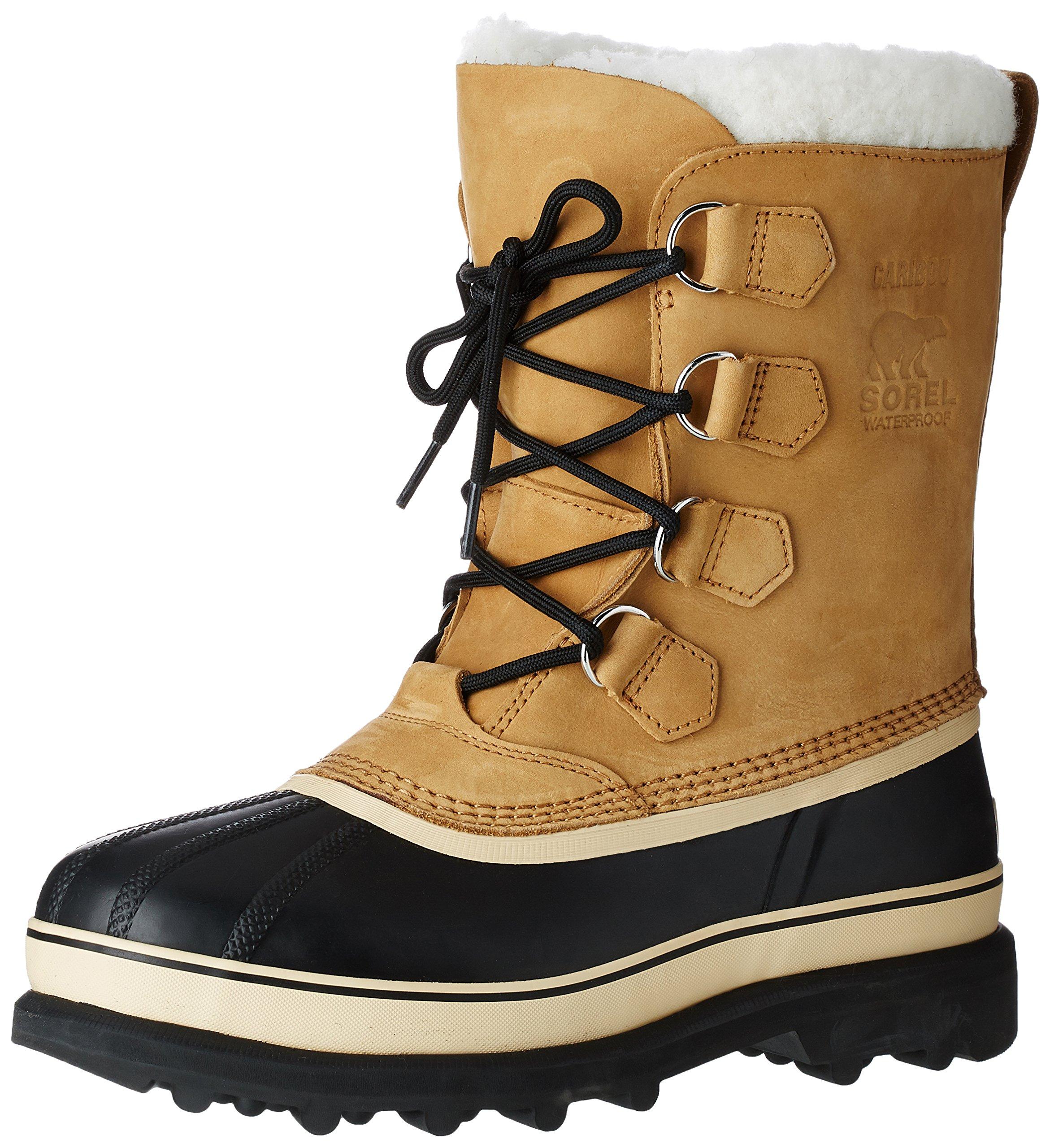 Sorel Men's Caribou Boots, Buff, 10.5 D(M) US