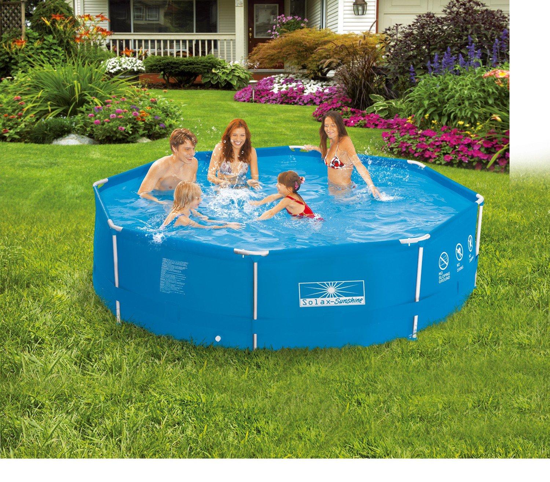 Solax Sunshine Metallrahmen-Pool 360x76cm SET: Amazon.de: Garten