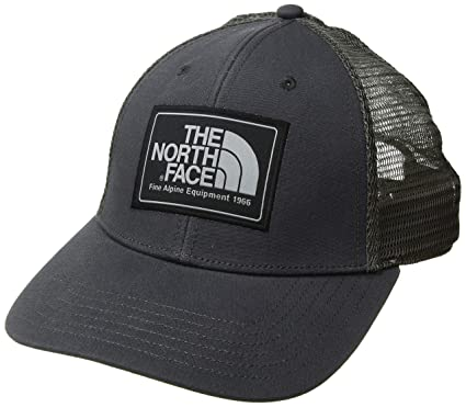 79bd5e7d22a79e THE NORTH FACE Men's Mudder Trucker Hat, Weathered Black/Mid Grey, One Size