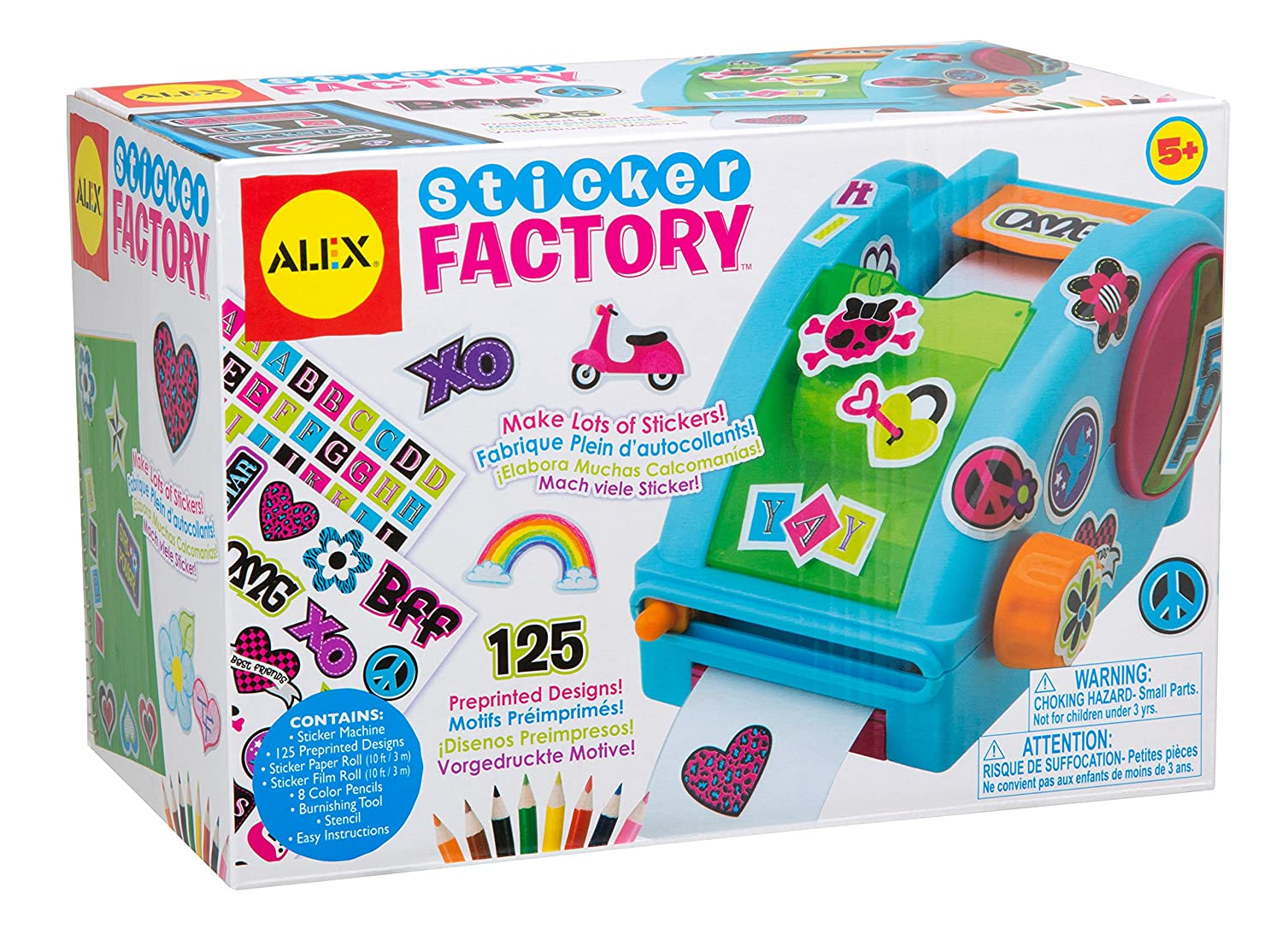 Buy alex toys craft sticker factory online at low prices in india amazon in